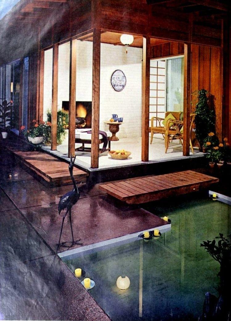 Beautiful reflecting pool