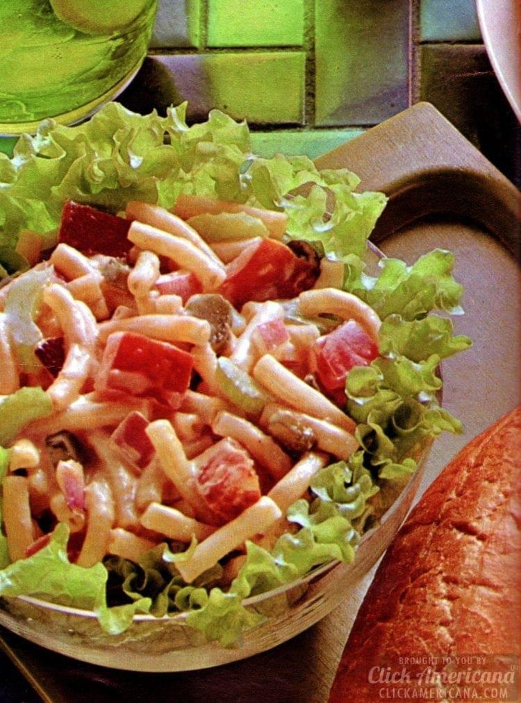 Midsummer macaroni salad