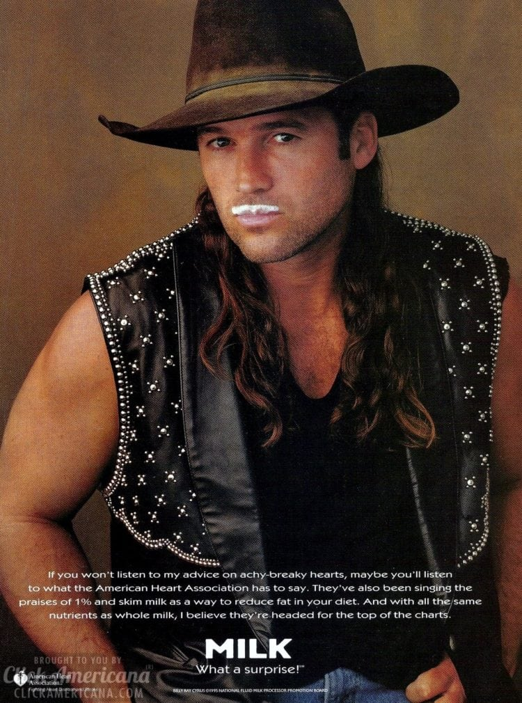 Milk What a Surprise Billy Ray Cyrus 1995