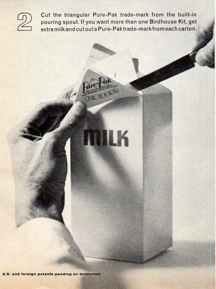 Milk carton bird house craft project instructions (1)