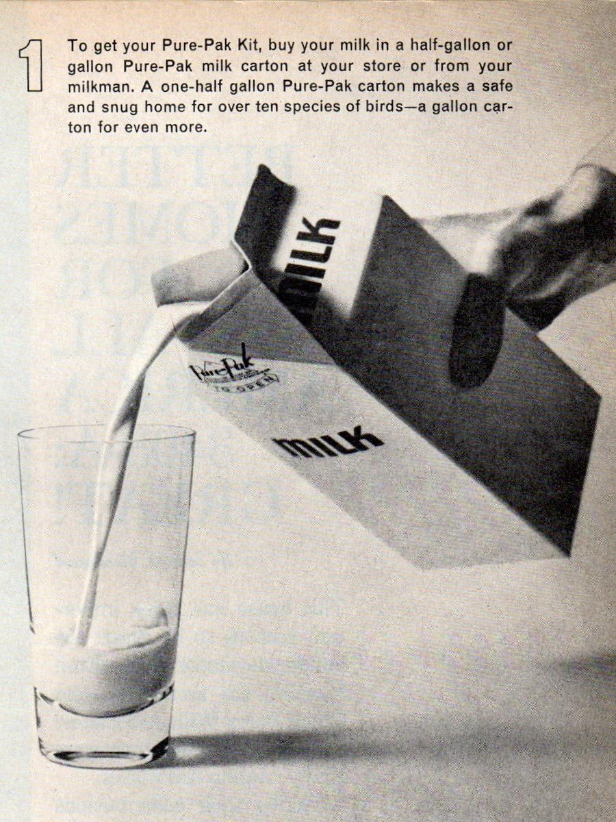 Milk carton bird house craft project instructions (3)