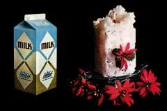 Milk carton candle how-to