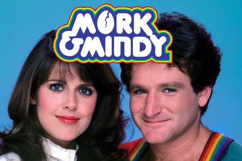 Mork & Mindy vintage TV show