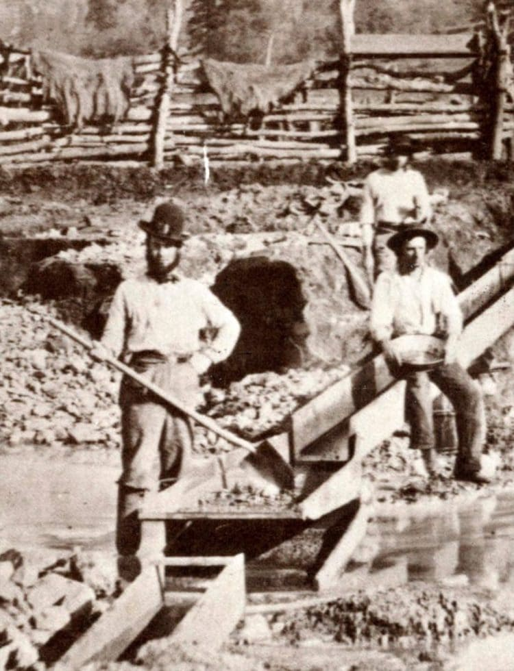 Miners from the 1849 California Gold Rush
