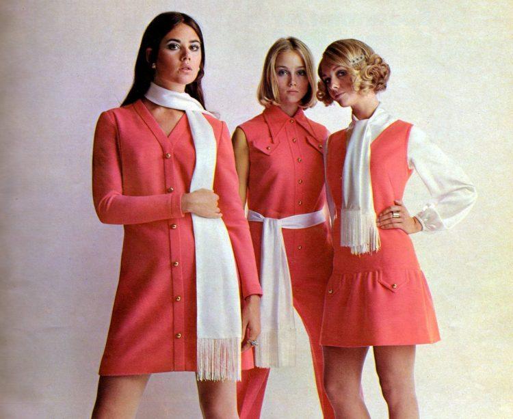 Mini dresses from 1969