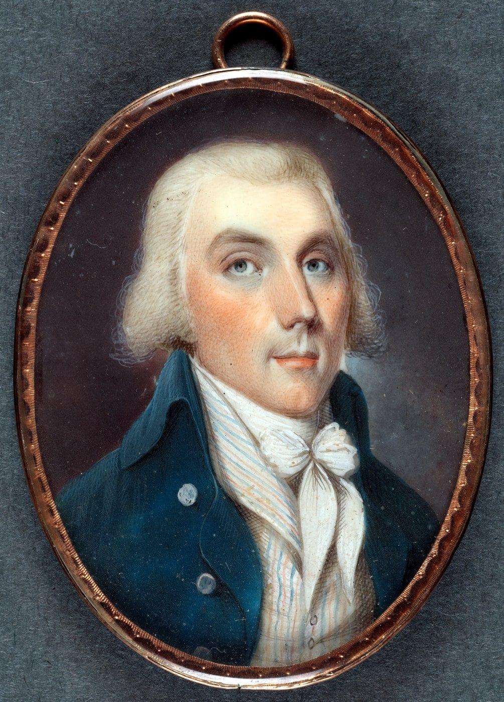 Miniature portrait of Samuel S. Forman (1790)