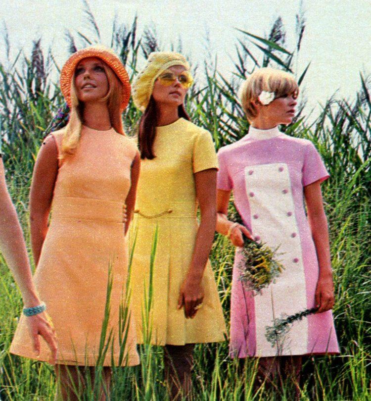 Minidress fashion from 1968