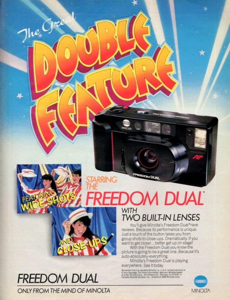 Minolta Freedom Dual vintage 35mm film camera