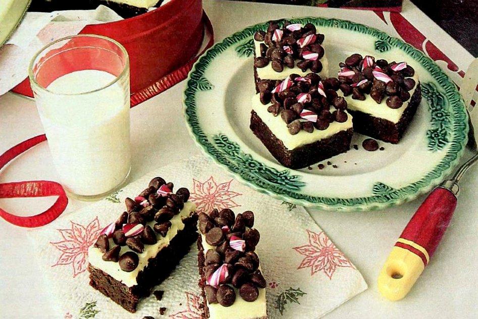 Mint magic brownies recipe