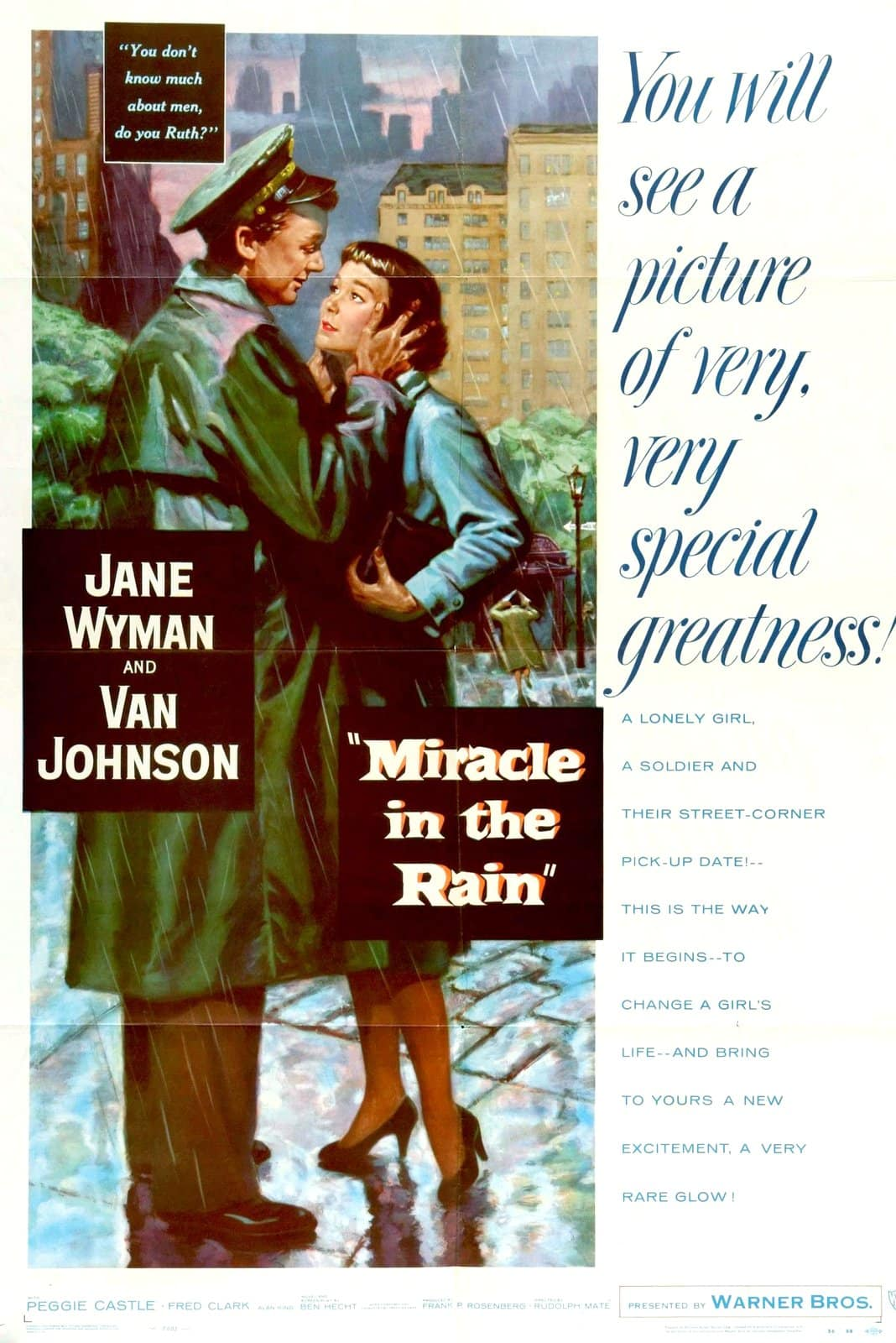 Miracle in the Rain movie - Poster