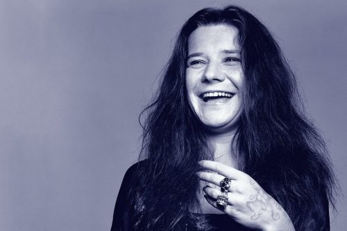 Miss Janis Joplin-laughing