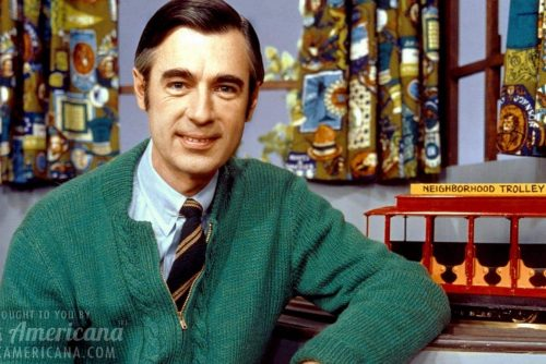 Mister Rogers with the Neighborhood Trolley