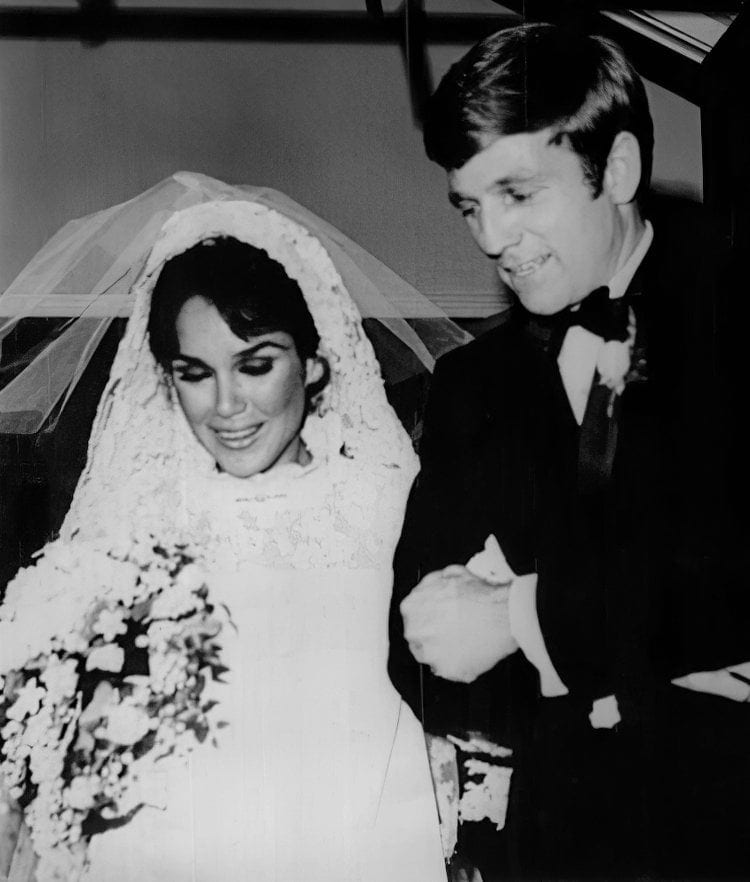 Mobley Collins wedding photo 1967