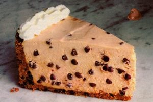 Mocha chocolate chip cheesecake from 1986