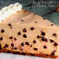 No-bake mocha chocolate chip cheesecake recipe