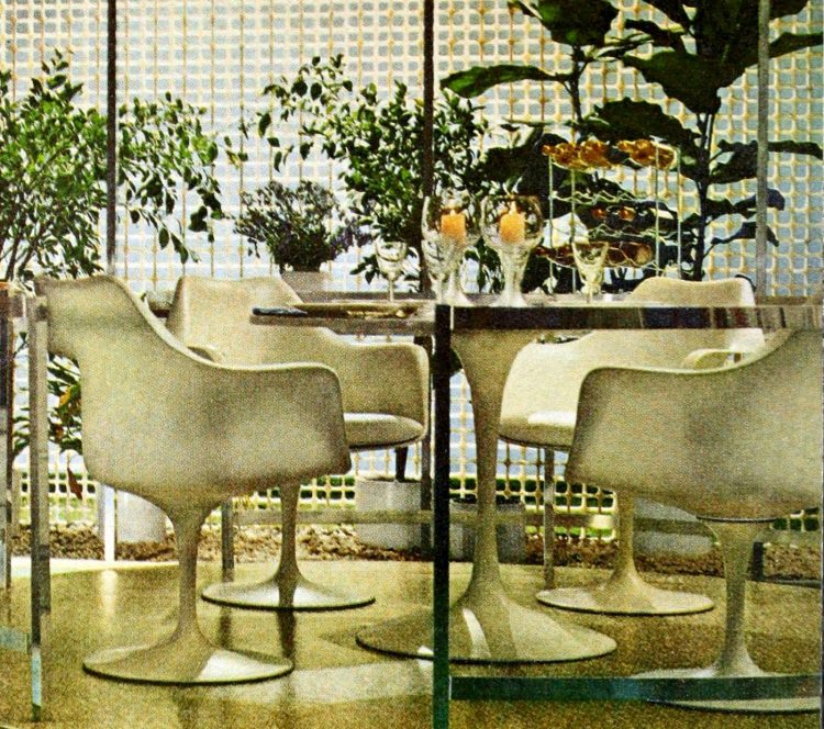 Mod dinette set from the 60s