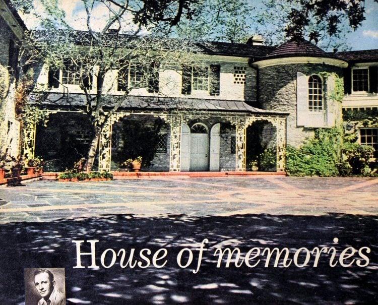 Modern Screen Bing Crosby's House of Memories 1950 (2)