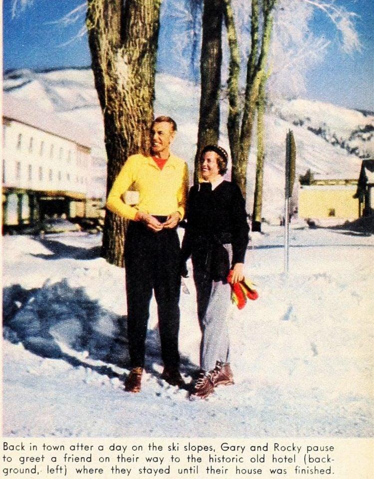 Modern Screen Gary Cooper's mountain hideaway 1949 (3)