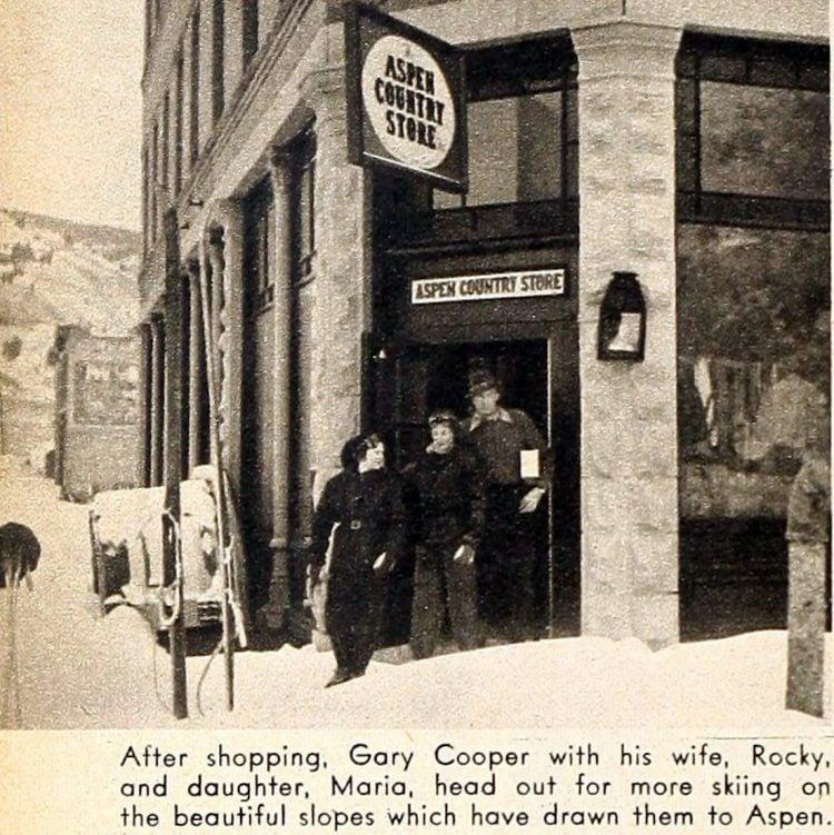 Modern Screen Gary Cooper's mountain hideaway 1949 (4)