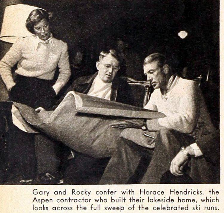 Modern Screen Gary Cooper's mountain hideaway 1949 (5)