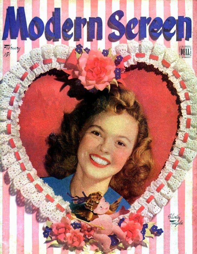 Modern Screen magazine - Shirley Temple cover 1946
