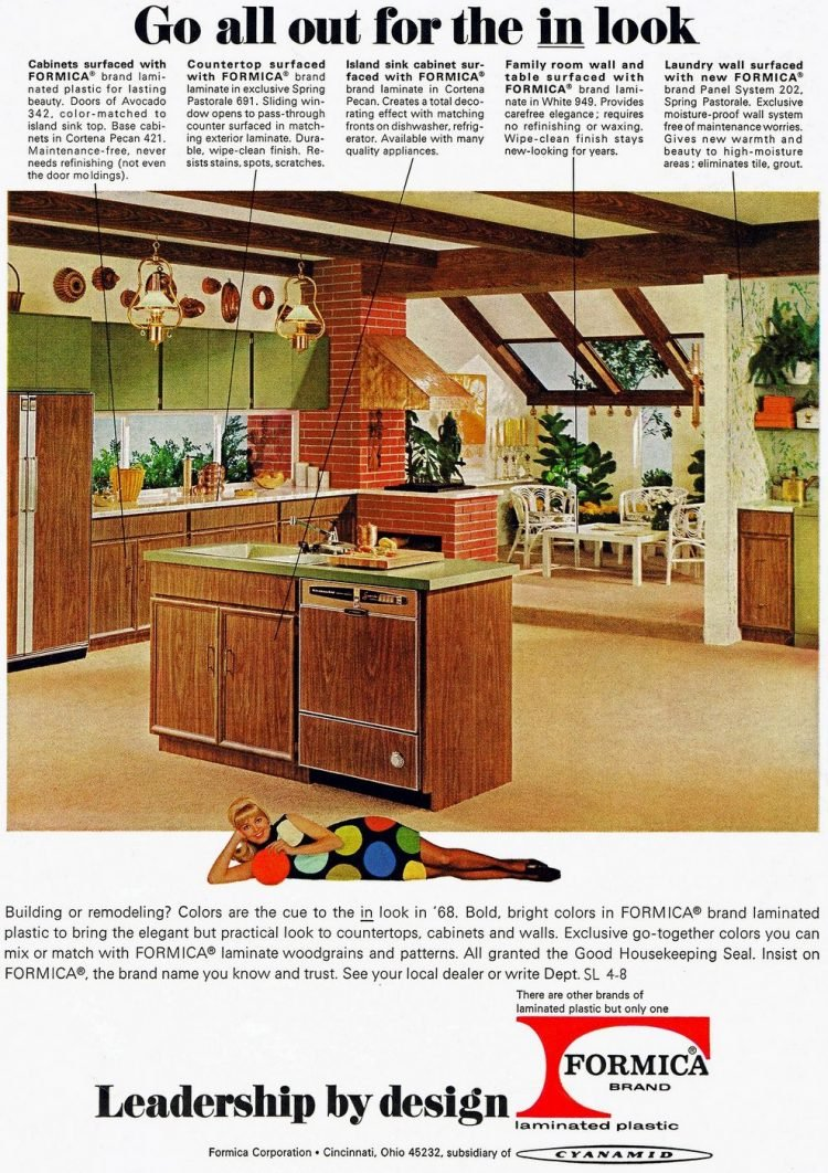 Modern kitchen from 1968