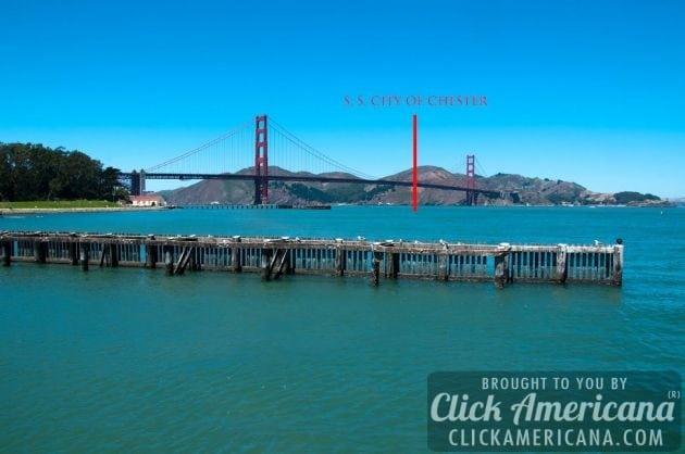 Found: 19th century shipwreck by Golden Gate Bridge (2014)