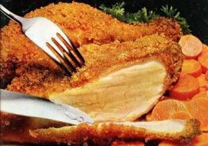 Moist 'n crispy chicken recipe (1982)