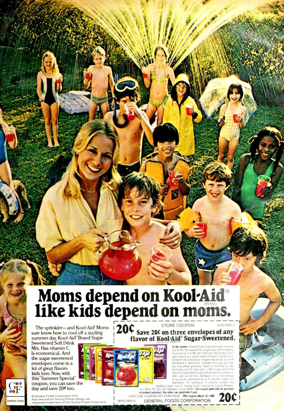 Moms depend on Kool-Aid (1980)