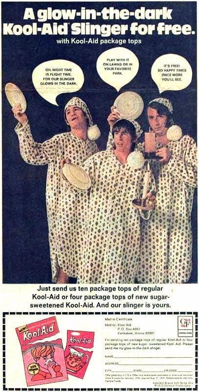 Monkees Kool Aid slinger free offer