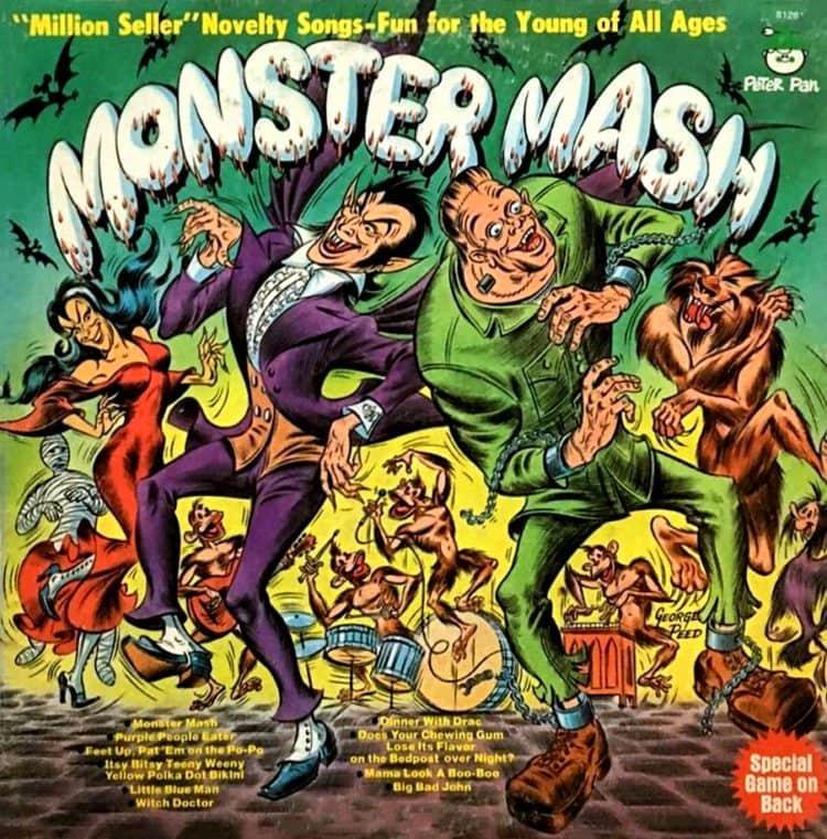 Monster Mash LP cover