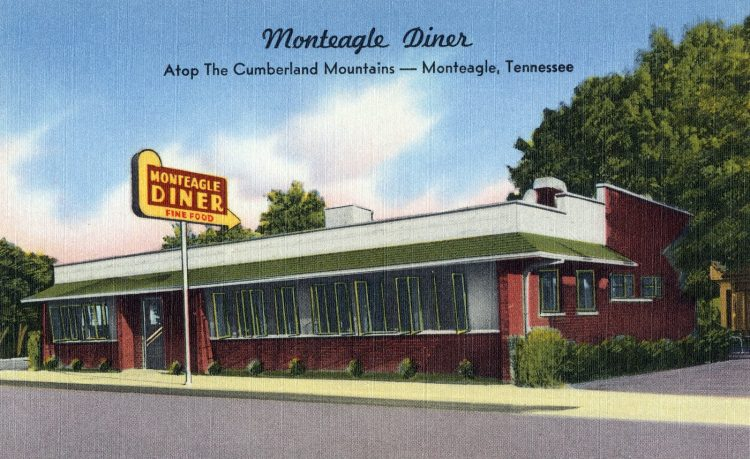 Monteagle Diner, atop the Cumberland Mountains - Tennessee