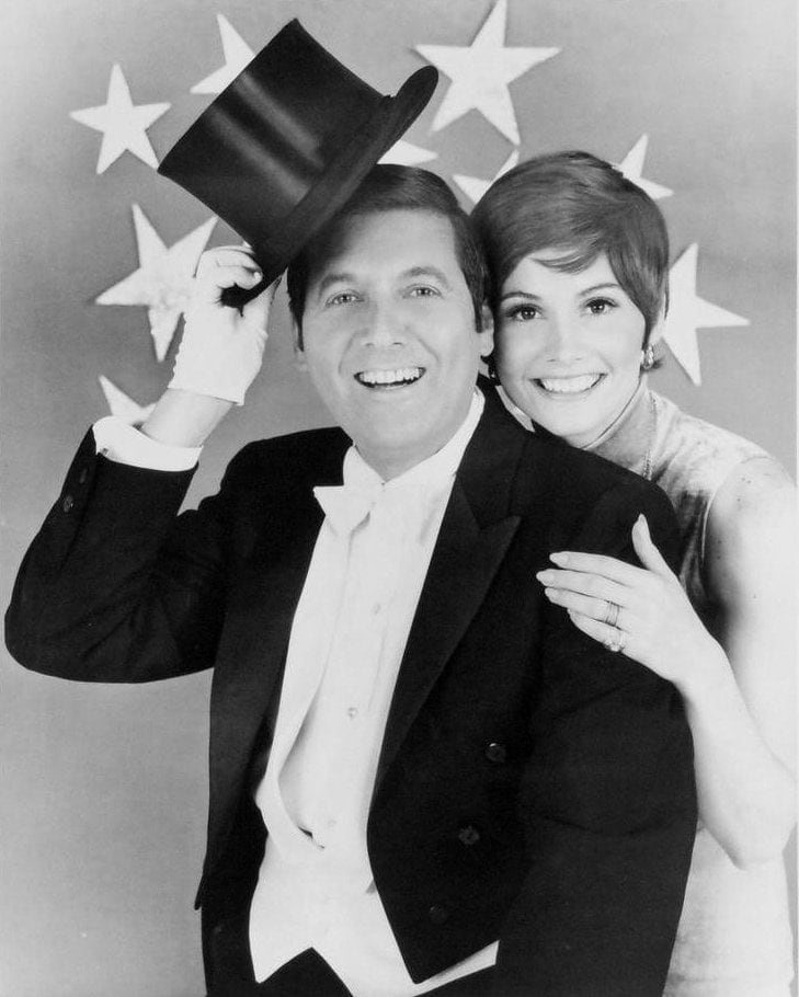 Monty Hall host of Let's Make a Deal vintage publicity still photo