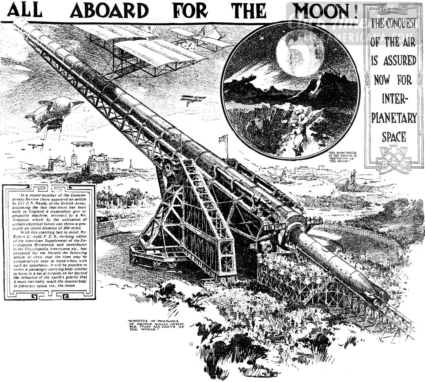 All aboard for the moon! (1908)