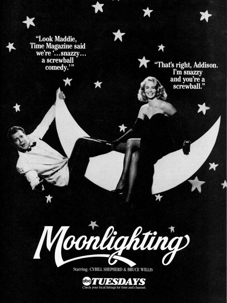 Moonlighting A snazzy, screwball comedy (1986)