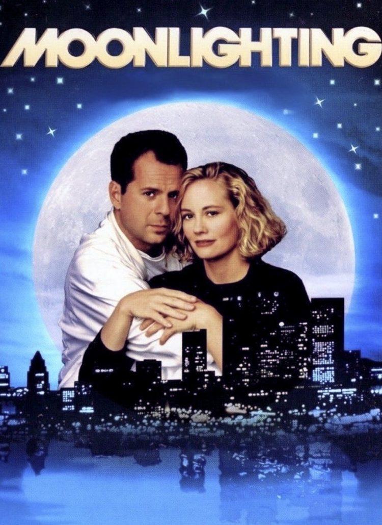 Moonlighting Bruce Willis and Cybill Shepherd TV comedy drama 1980s (3)