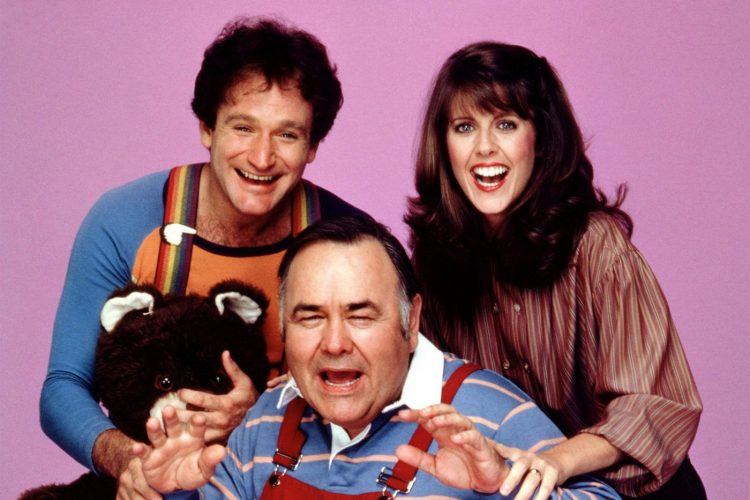 Mork and Mindy and their son