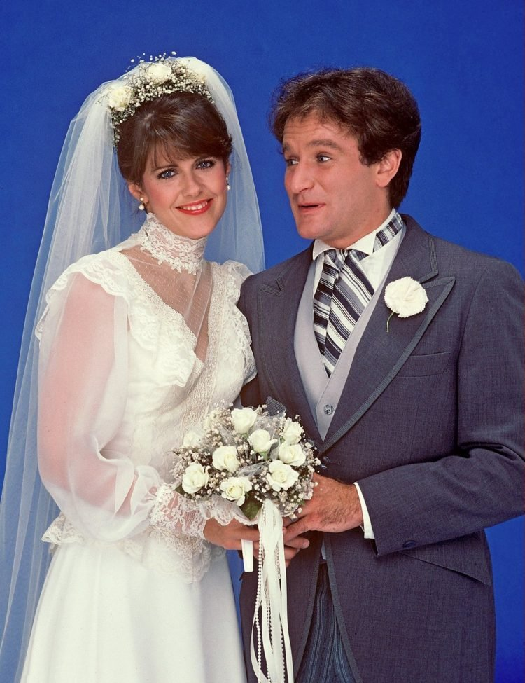 Mork and Mindy get married