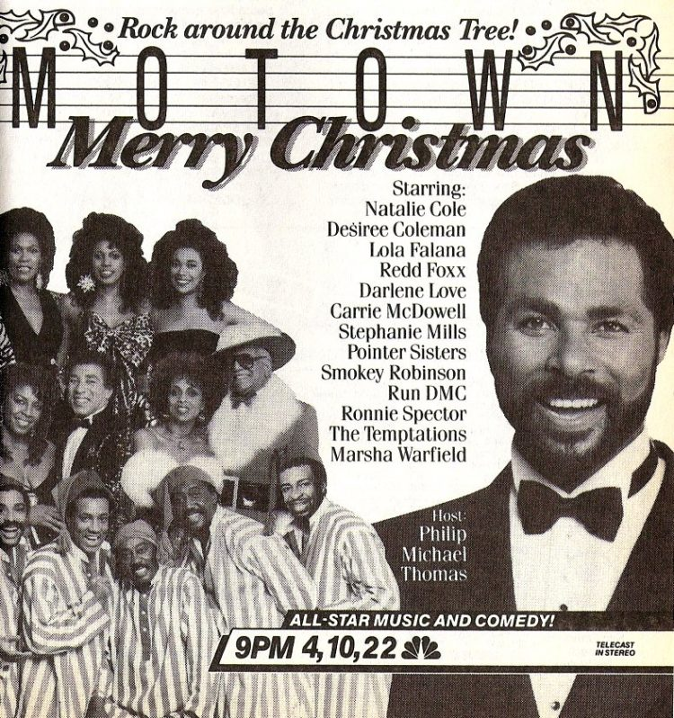 Motown Merry Christmas TV special from 1987