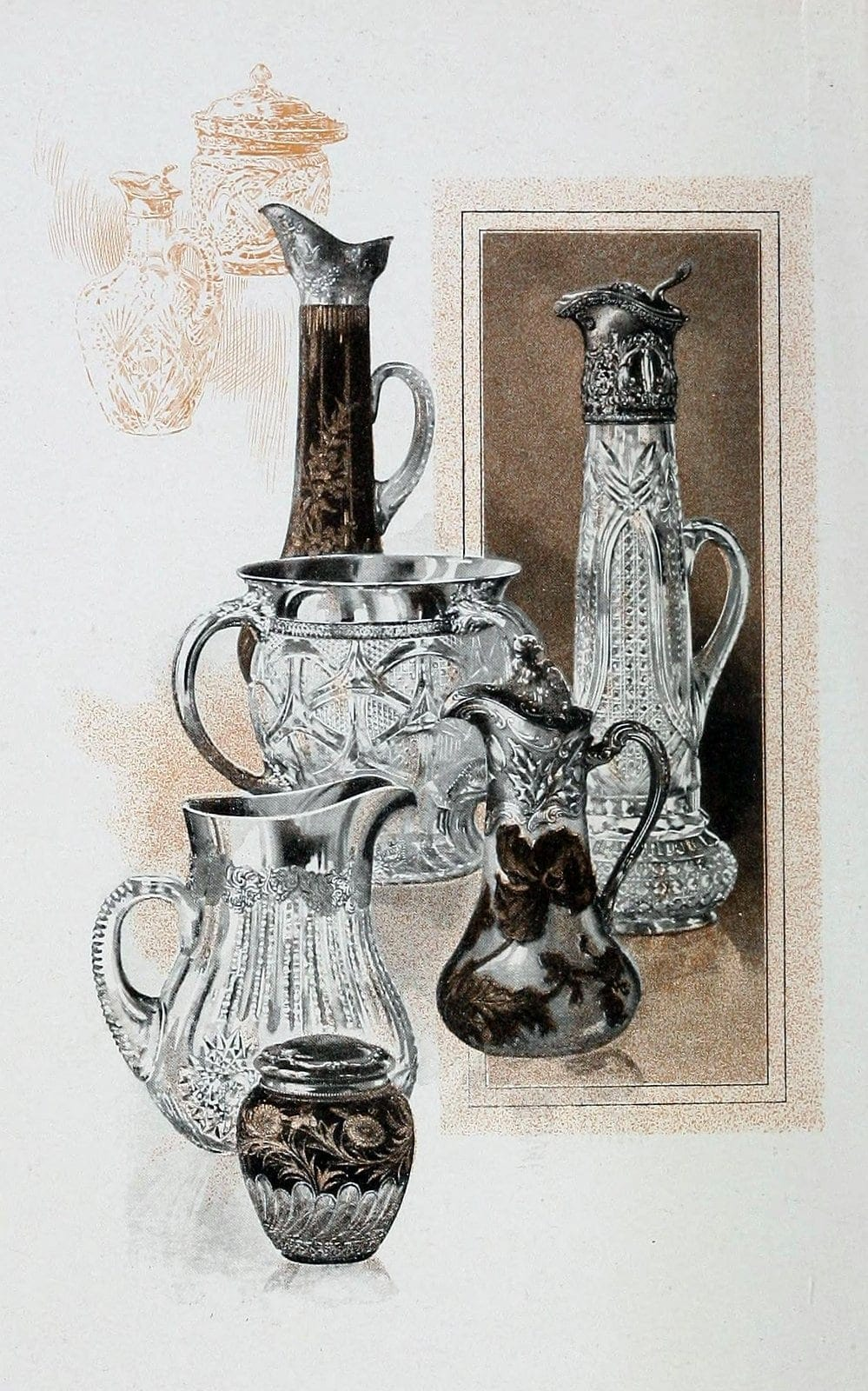 Mounted Glassware