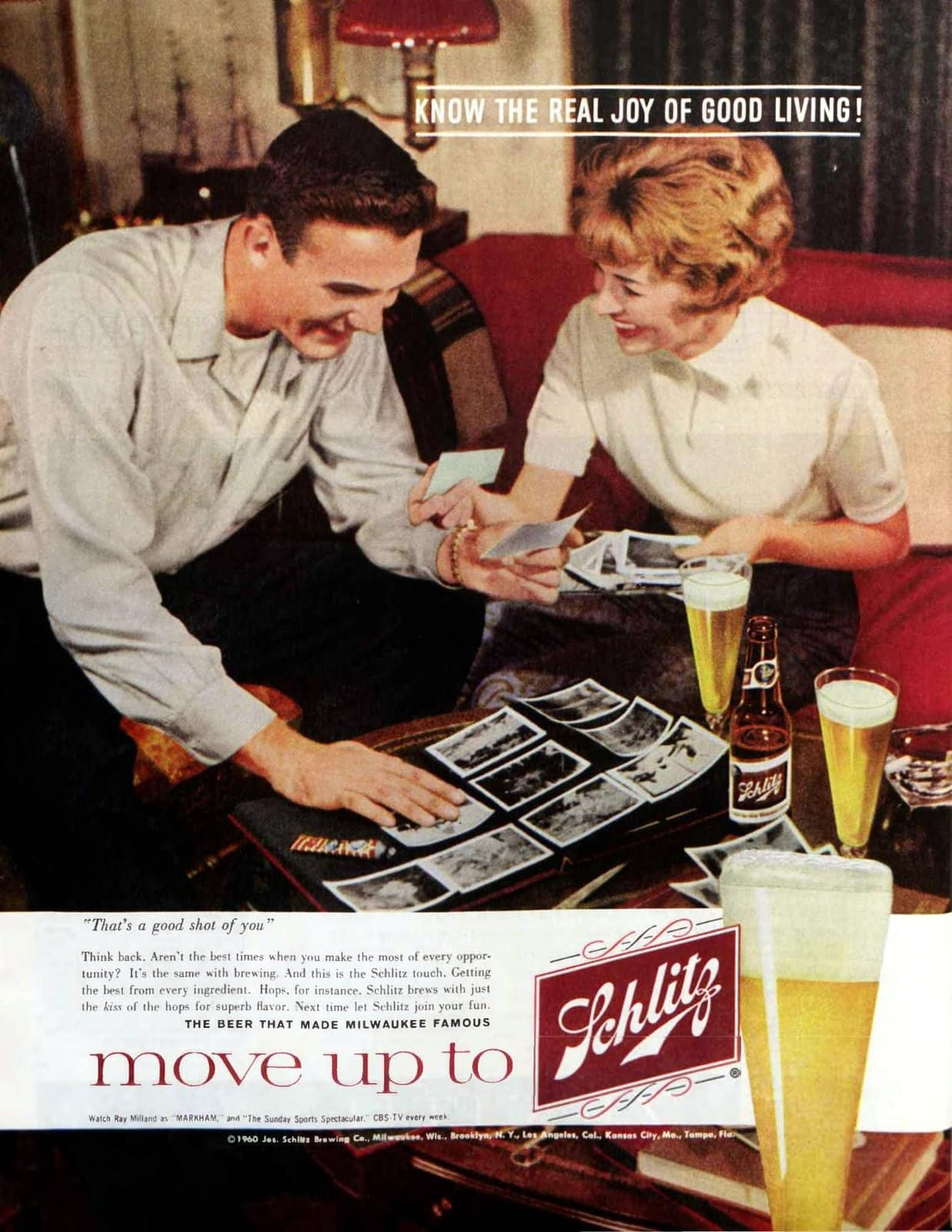 Move up to Schlitz (1960)