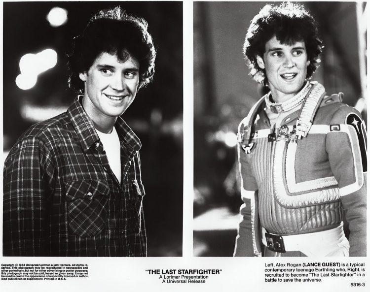Movie stills - Vintage 80s film The Last Starfighter - Lance Guest