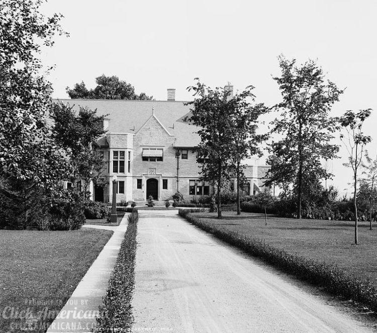 Mr. Swift's residence, Detroit, Mich. 1905