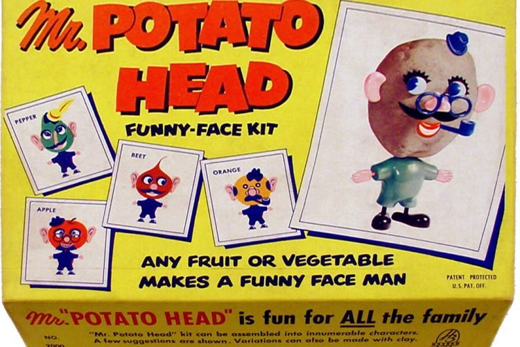 Mr.Potato Head Funny-Face vintage original Kit