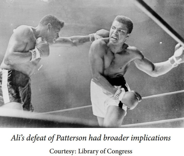 Muhammad Ali protests the Vietnam War - Boxing defeats Patterson
