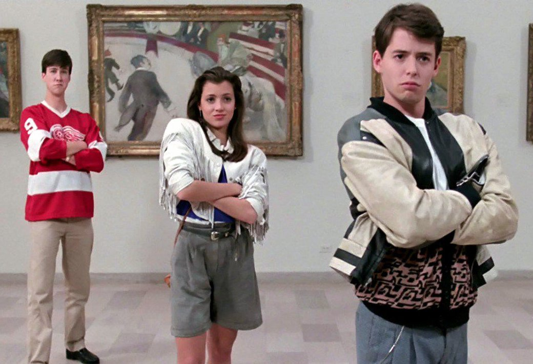 Museum scene - Ferris Bueller's Day Off (1986)