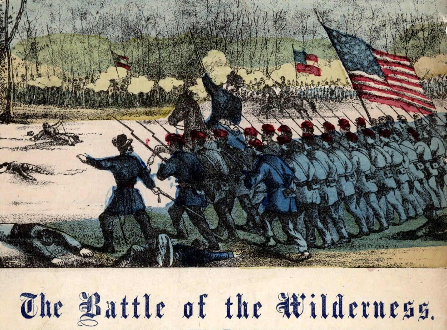 Music - The battle of the Wilderness
