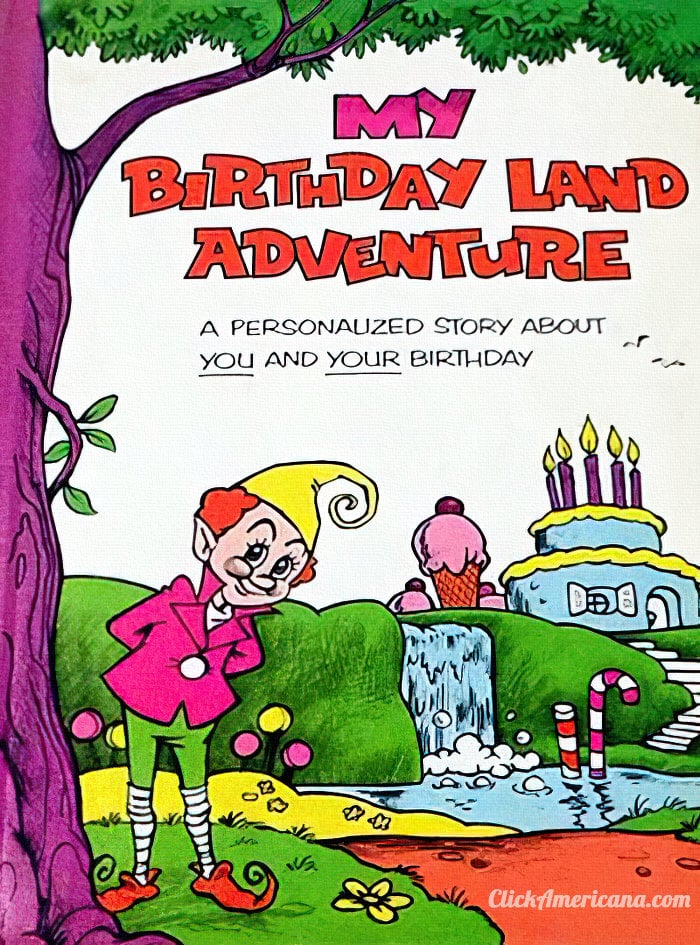 My Birthday Land Adventure Me Book