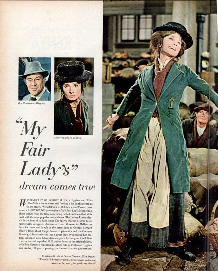 My Fair Lady's dream comes true (1964)