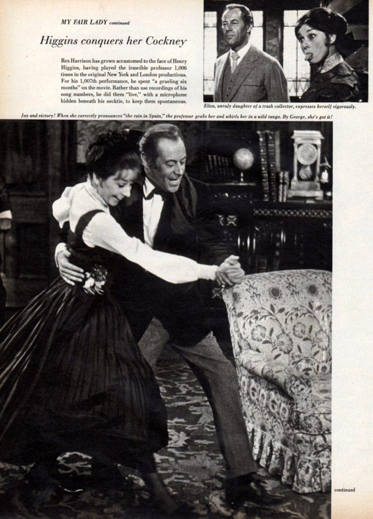 My Fair Lady's dream comes true 1964 movie (2)
